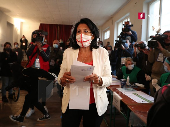 Президент Грузии призвала граждан прийти на выборы