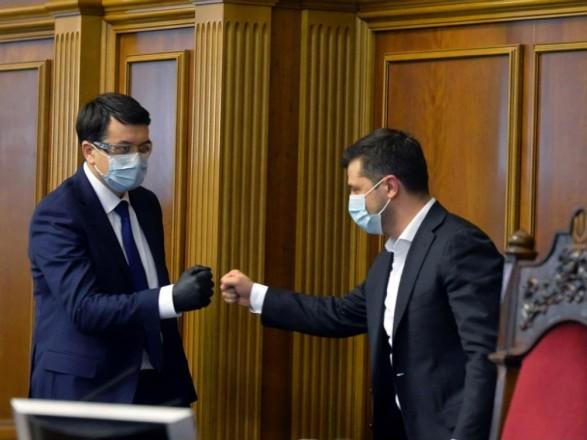 COVID-19 у Зеленского: Разумков рассказал, готов ли он выполнять обязанности Президента