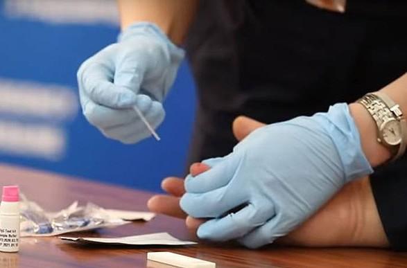 Правительство должно организовать национальное тестирование на коронавирус по примеру Словакии - заместитель председателя ВР