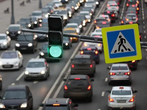 В Киеве на дорогах заметны незначительные пробки