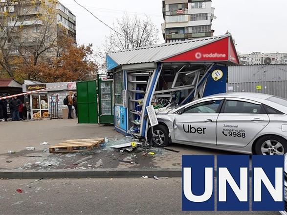 Смертельное ДТП с такси в Киеве: водителя авто, влетевшего в остановку, задержали