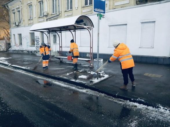 Задержек общественного транспорта из-за снега в столице нет - КГГА