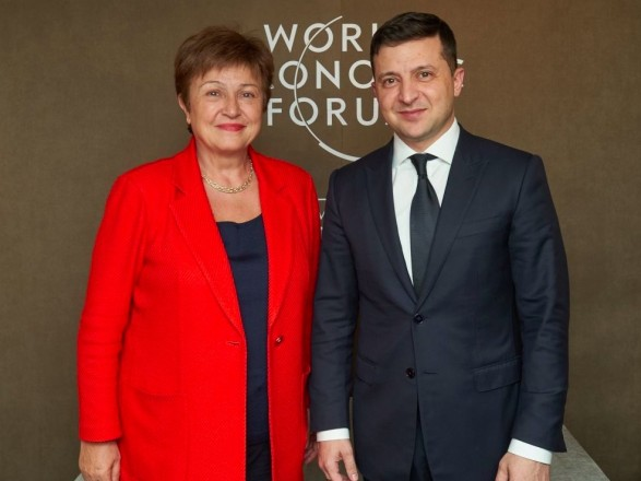 Глава МВФ прокомментировала разговор с Зеленским: полное взаимопонимание относительно пересмотра программы