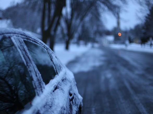 В трех областях выпало до 3 сантиметров снега