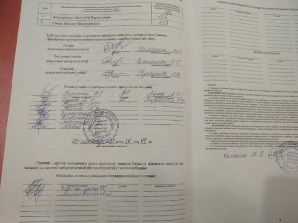 """В Ужгороде и Черкассах некоторые УИК подписывают избирательные протоколы """"из будущего"""""""