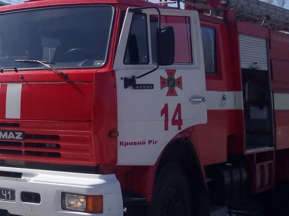 В Кривом Роге горело здание учебного заведения