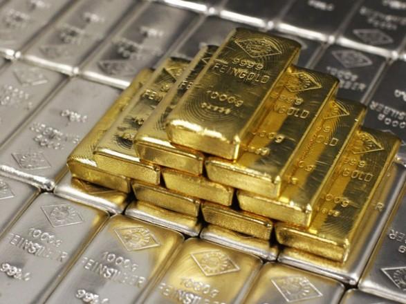 На сьогодні встановлено ціну на банківські метали