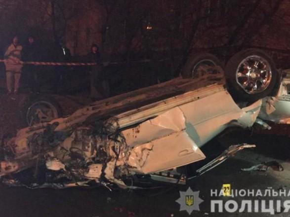 В Хмельницкой области на скорости перевернулся легковик Subaru - погибло две женщины