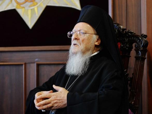 Вселенский патриарх Варфоломей посетит Украину в августе следующего года
