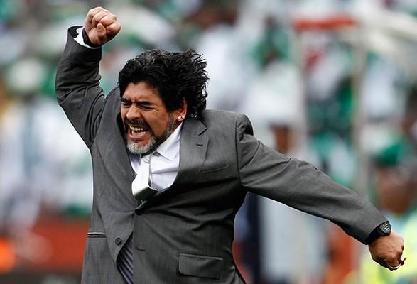 Итальянский клуб переименовал стадион в честь Марадоны