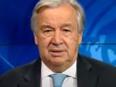 Світу необхідна глобальна співпраця у боротьбі з COVID-19 — генсек ООН