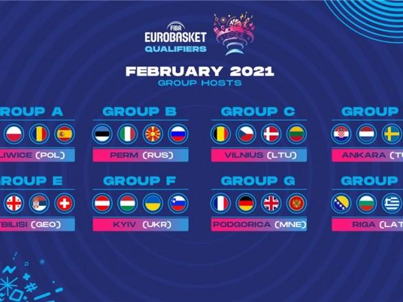 "Украина примет ""бабл"" квалификации на Евробаскет-2022"