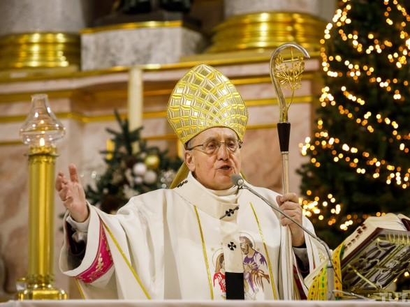 В Беларусь вернулся глава Римско-католической церкви и провел Рождественскую службу