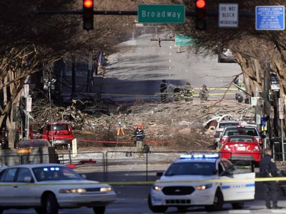 Полиция Нэшвилла заявила, что взрыв в городе организовал местный житель