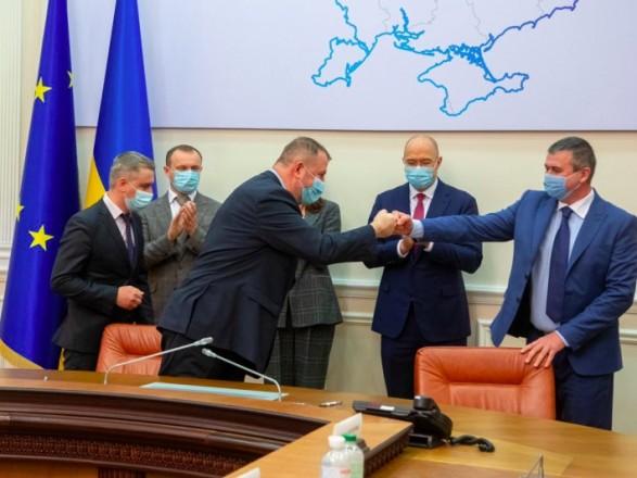 Кабмин подписал соглашения о разделе продукции на 7 нефтегазовых участках