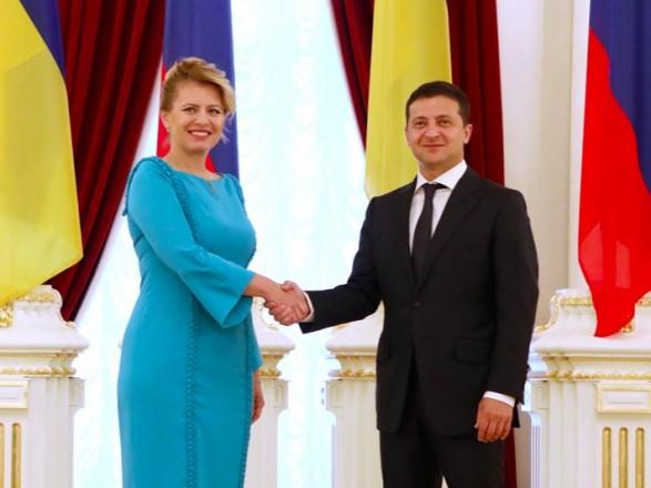 """Зеленский поздравил Словакию с днем республики: надеется на """"новый уровень"""" в сотрудничестве"""