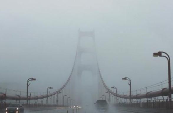 Киевлян предупредили о тумане в первой половине 3 января