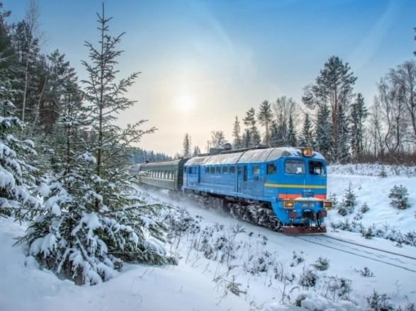 Новогодние выходные в поездах по Украине провели почти 200 тыс. пассажиров