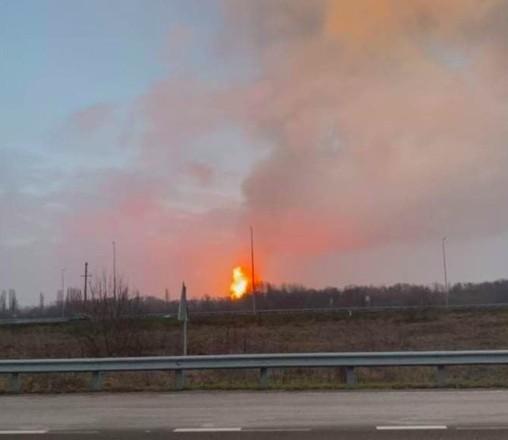 """Авария газопровода в Полтавской области: """"факельное горение"""" уже не наблюдается"""