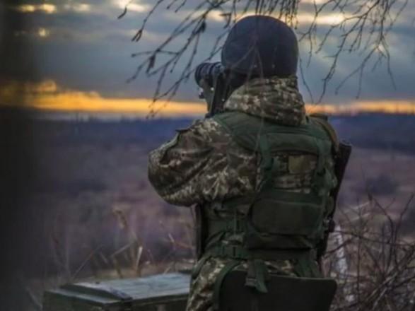 """ООС: боевики за сутки трижды нарушили """"режим тишины"""""""