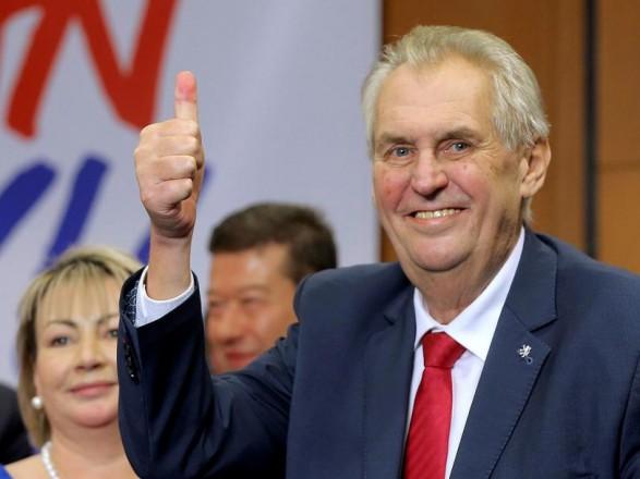 Президент Чехии сравнил события в Вашингтоне с украинским Майданом