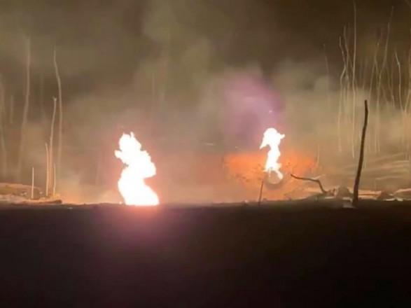 Авария газопровода в Полтавской области: чрезвычайники продолжают ремонтные работы