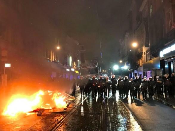 Митинг и беспорядки в Брюсселе: задержаны более 100 человек, есть раненые