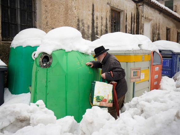 Снежный коллапс в Испании: ущерб от непогоды только в Мадриде превысили 1,3 млрд евро