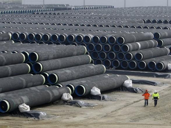 """Bloomberg: строительство """"Северного потока - 2"""" планируется завершить в июне"""