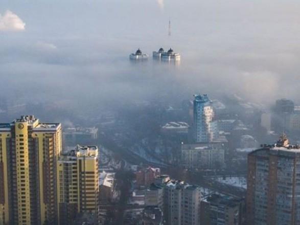 В декабре в Киеве зафиксировали высокий уровень загрязнения воздуха