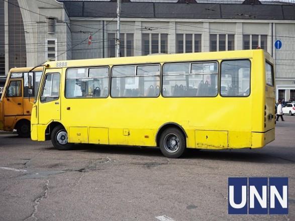 В Киеве уменьшили количество маршруток и автобусов