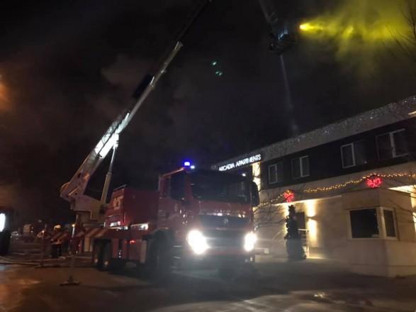 Пожар в одесской гостинице ликвидировали