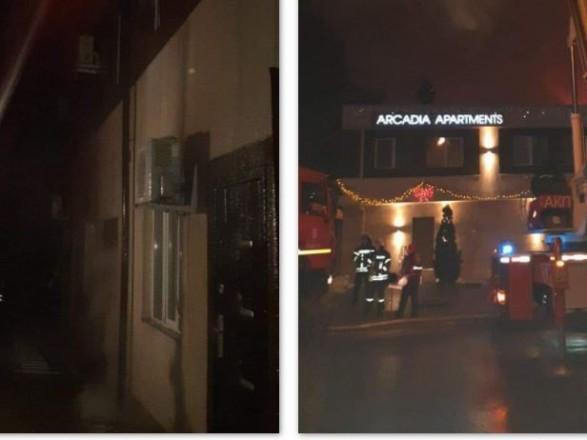 В результате пожара в одесской гостинице один человек погиб, еще двое пострадали