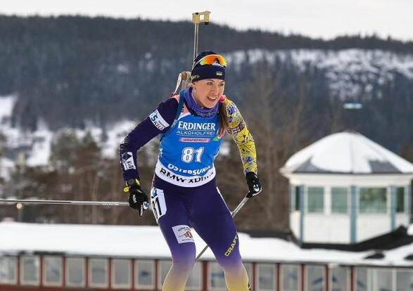 Украина завоевала первую медаль сезона на Кубке мира по биатлону