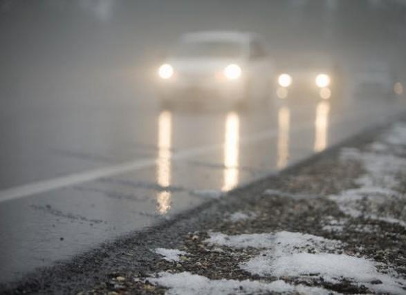 Ситуация на дорогах: водителей предупредили о дожде и тумане