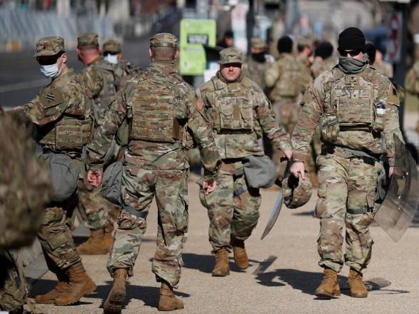 Вспышка коронавируса произошла среди военных, охранявших инаугурацию Байдена