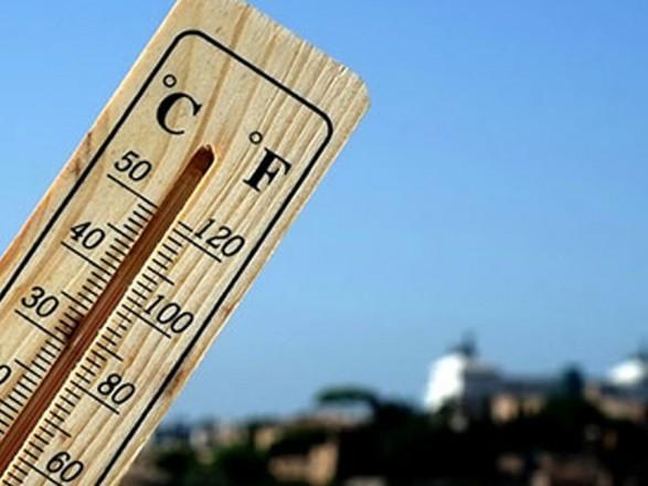 Погода в Киеве третий день подряд ставит рекорды