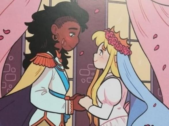 Принцеса+принцеса: уряд придбав понад тисячу книжок про дівчат-лесбійок для дитячих бібліотек