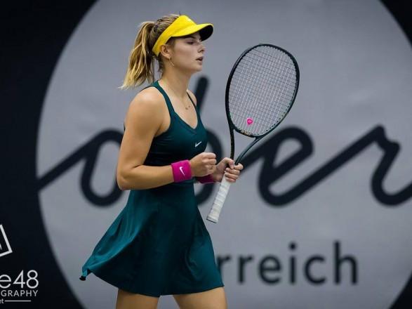 Теннисистка из Украины победила на старте турнира во Франции