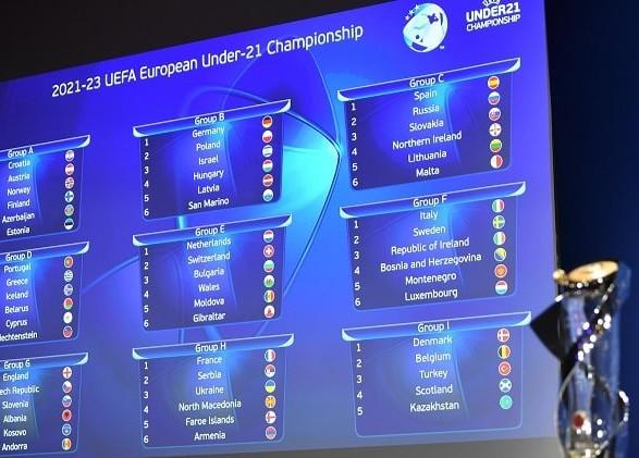 Молодежная сборная Украины по футболу получила соперников по отбору на Евро-2023