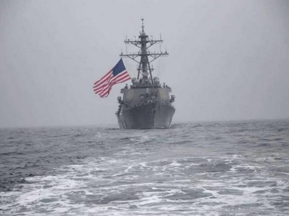 Украинские ВМС в Черном море отработали маневры с кораблями США