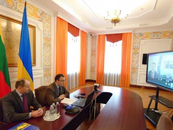 Украина и Литва обсудили совместное противодействие гибридной агрессии России