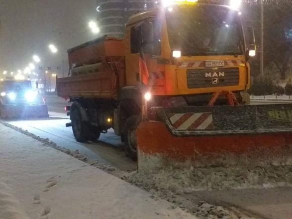 Зима бушует: за двое суток в Киеве выпало почти 30 см снега