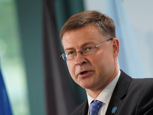 Второй транш средств от ЕС зависит от МВФ и выполнения Украиной 8 структурных мер - Домбровскис