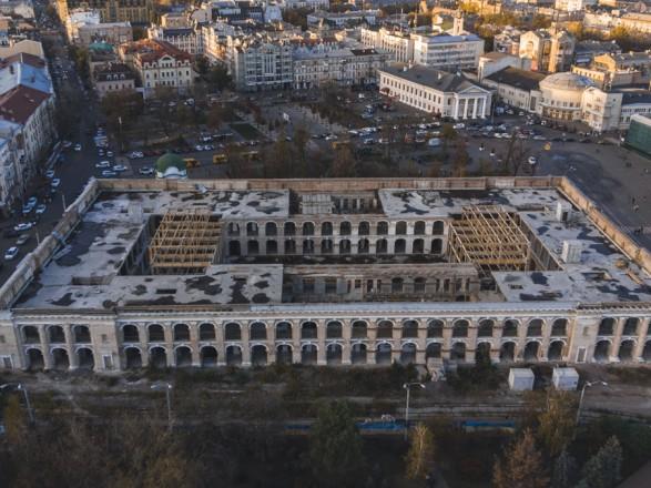 Киевсовет обратился к правительству относительно передачи Гостиного двора столице