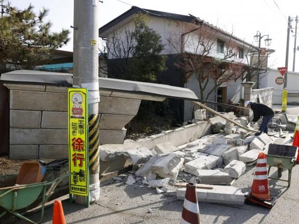 Землетрясение в Японии: афтершок магнитудой 5,2 баллов произошел в префектуре Фукусима