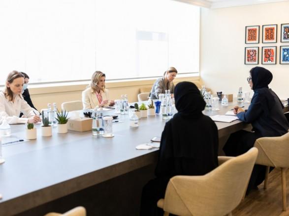 Борщ, писанки и плетение венков: Зеленская хочет продвигать украинскую культуру в ОАЭ