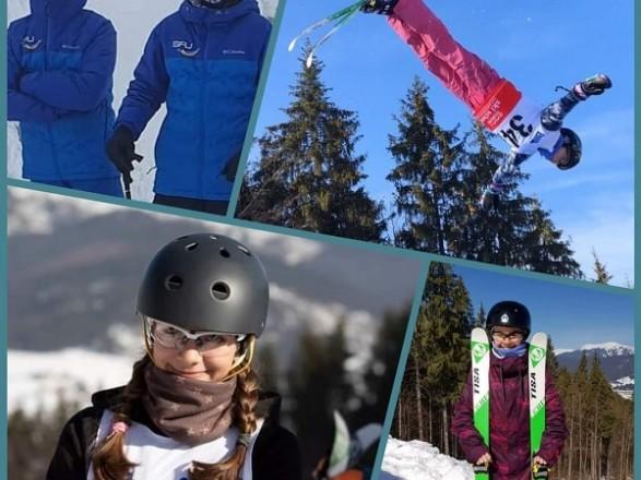 Украинцы завоевали семь наград на этапе Кубка Европы по лыжной акробатике