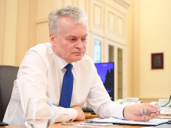 Президент Литвы про отношения с РФ: мы не можем закрыть глаза на события в Украине и дело Навального
