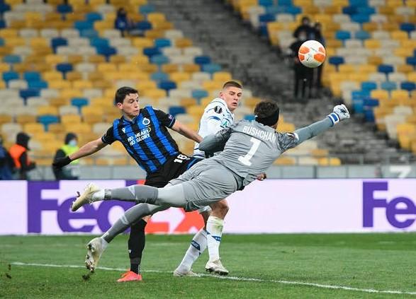 """""""Динамо"""" свело вничью домашний поединок плей-офф Лиги Европы"""